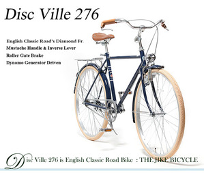 DISC VILLE 276  English Classic Road Bike  Brilliant Navy  클래식로드 디스크 빌